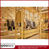 Wooden Display Fixtures/Shelving for Ladies′ Clothes Store Decorate