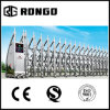 Safety Automatic Retractable Gate / Steel Accordion Gate