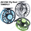 Large Arbor Waterproof Drag System Light CNC Fly Fishing Reel