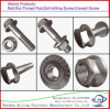 Hexagon Flange Bolts, Titanium, Zinc, Stainless Steel, Carbon Steel, Zinc