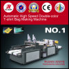 High Speed Double Color T Shirt Bag Making Machine