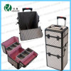 Beauty Trolley Makeup PVC Rolling Cosmetic Case (HX-P2607)