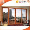 High-End Villa Solid Oak Wood Aluminum Sliding Doors
