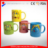 Colorful Ceramic Smile Face Nose Mug with Handle for Gift