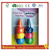 3D Animal Finger Crayon 6PCS for Kids Paint Gift