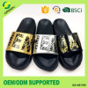 Luminous Upper Shiny Glitter Material Slide Slipper