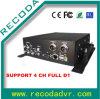 4CH Full D1 Mobile Car DVR Recorder