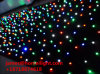 Disco Decoration Light RGBW LED Star Curtain