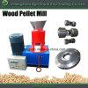 China Supplier Flat Die Ce Wood Pellet Machine for Biomass Sawdsut
