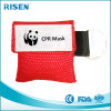 Promotional Gift Mini Disposable Medical CPR Face Shield CPR Life Key