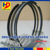 for Yanmar 3D84 4D84 4tne84 4tnv84 Forklift Engine Piston Ring Kit (129004-22500)