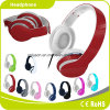 Red Colorful Customized Logo Perfect Sound Effect Music Headphone