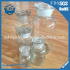 Transparent Glass Reagent Bottle with Stopper