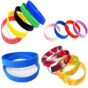 Hight Quality Mixed Color Silicone Bracelet and Silicone Wrisband (YB-HD-190)