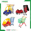 Supermarket Nestable Children Shooping Trolley with Toy Car