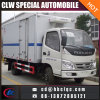 Foton 6ton Cool Body Insulated Refrigerated Truck Box Cold Box Van