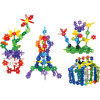 Children Leaves Snowflakes Building Blocks Toy