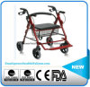 Aluminum Alloy Rollator with Footrest