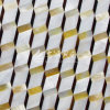Freshwater Shell and Yellow Lip Mop Shell and Pen Shell Rhombus Mosaic Tile