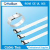 Non-Flammability Stainless Steel L Lock Cable Tie Zip Tie