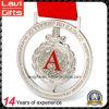 3D Metal Silver Void Effect Award Sport Medal