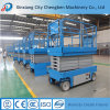 Portable DC Motor 24 V Scissor Lift with Electric Working