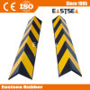 Black & Yellow Rubber Square Frame Corner Guard