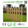 Outside Garden Wood Plastic Deck and Fencing