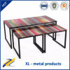 Painted Furniture Tempered Glass Coffee Table