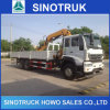 Truck Mounted Crane 25ton Loading Weight Sinotruck HOWO 6*4
