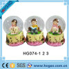 Beautiful Snow Globe One Pretty Gril Inside for Decoraton