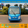 Zhongyi Battery Operated 14 Seats Electric Sightseeing Car with Ce