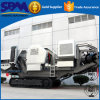 Portable Silicate/Gypsum/Phosphorus/Gangue/ Talc /Slag/Pebble/Marble Crushing Line