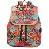Good Quality Leather Bags Teen Leather Backpack Products (EMG4238)