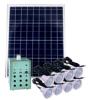 Solar Lighting System 8PCS Super Bright LED Lamp Szyl-Slk-6040A