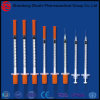 Special Hot Selling Insulin Syringe with Needle and Blister Packing