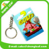 Keychain Blank Promotional Plastic PVC Rubber Keyring Notepad