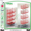 Promotion Stacking Wire Basket Display Stand