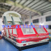The Bus Inflatable Slide Bed/Inflatable Long Water Slide/PVC Inflatable Adult Outdoor Slide