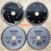 Diamond Tools Continous Saw Blade Segment Bldes Turbo Saw Blades Brazed Welded Saw Blades