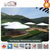 300 People Polygon Luxury High Peak Glass Wall Hotel Tent