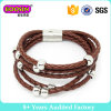 New Design Colors Leather Bracelet for Men