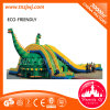 Giant PVC Inflatable Castle Water Slide