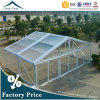 100% Rainproof Fabric New Clear Roof Fabric Event Marquee Tents with Wooden Flooring