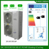 Minus 25c Winter Weather Air Source 12kw 220V Floor Heating Monoblock Heat Pump Evi