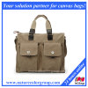 Designer Man′s Canvas Satchel Handbag
