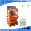 Sy1-10 Hydraulic Block Making Machine Fully Automatic with High Capacity Good Quality 2017 Best Selling