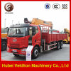 6X4 10 Wheels Mobile Crane Truck