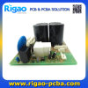 2-Layer Circuit Card and PCB Assembly with Big DIP Capacitors