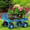 Steel Heavy Duty Utility Wagon Lawn Cart